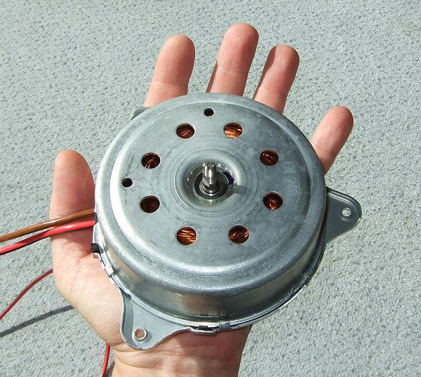 Stromgenerator fur windrad