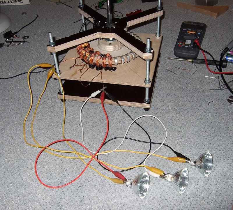 generator spule außen